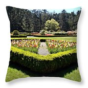 Angles Of Spring Throw Pillow