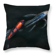 Animal - Fish - Beauty And Grace  Throw Pillow