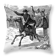 Animal Cruelty, 1877 Throw Pillow