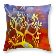 Ankh Roots Throw Pillow