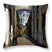 Ann Arbor Shopping Throw Pillow