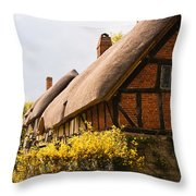 Ann Hathaway Home Throw Pillow