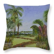 Ann Norton Garden Throw Pillow