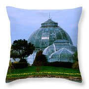 Anna Scripps Whitcomb Conservatory Throw Pillow