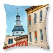 Annapolis Duomo Throw Pillow