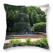 Annapolis Fountain Throw Pillow
