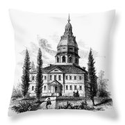 Annapolis: State House Throw Pillow