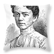 Annie Johnston (1863-1931) Throw Pillow