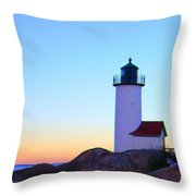 Annisquam Dawn Throw Pillow