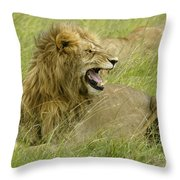 Annoyed Throw Pillow