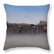 Another Abandoned Croft Throw Pillow
