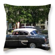 Another Classic Car Throw Pillow