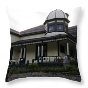 Another Greenwood Heritage Home Throw Pillow