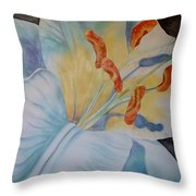 Another Liliy Throw Pillow