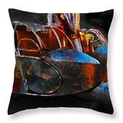 Another Mission Completed  Throw Pillow