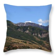 Another View Of Salt Lake City Throw Pillow