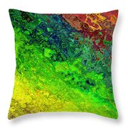 Another Waterway Throw Pillow