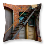 Another Way Out Throw Pillow