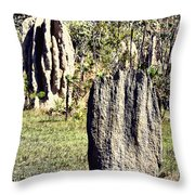 Ant Megastructures-a Trillion Tiny Builders Throw Pillow