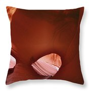 Antelope Canyon - A Rare Beauty Throw Pillow by Christine Till