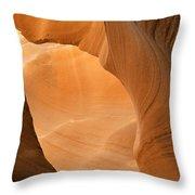 Antelope Canyon - Another World Throw Pillow