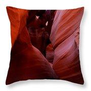 Antelope Canyon I Throw Pillow