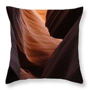 Antelope Canyon Natural Beauty Throw Pillow