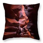 Antelope Canyon Page Arizona Throw Pillow