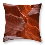 Antelope Canyon, Page, Arizona Throw Pillow