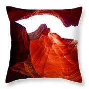Antelope Canyon Skylight Throw Pillow