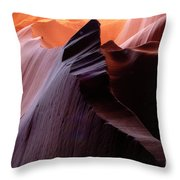 Antelope Canyon Story Of The Rock Throw Pillow