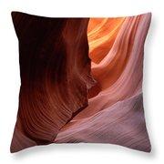 Antelope Canyon Written In Stone Throw Pillow