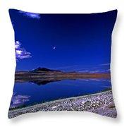 Antelope Island  Throw Pillow