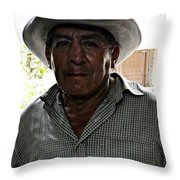 Anthony Quinn Lookalike  Throw Pillow