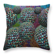 Anti Gravity Chamber I Throw Pillow