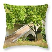 Antietam's Burnside Bridge Throw Pillow
