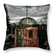 Antigua Stairwell Throw Pillow