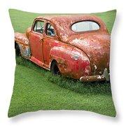 Antique Ford Car 5 Throw Pillow