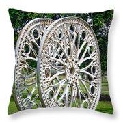 Antique Paddle Wheel University Of Alabama Birmingham Throw Pillow