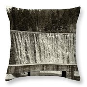 Antique Polish Waterfall Throw Pillow