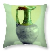 Antique Vases Still Life Altered IIi Throw Pillow