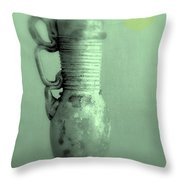 Antique Vases Still Life Altered Iv Throw Pillow
