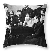 Anton Chekhov (1860-1904) Throw Pillow