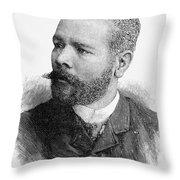 Antonio Maceo (1848-1896) Throw Pillow