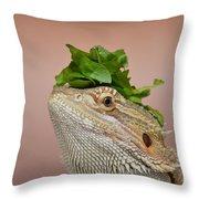Anyone Seen My Salad? Throw Pillow