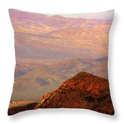 Anza-borrego Desert Foothills Throw Pillow