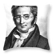 A.p. De Candolle, Swiss Botanist Throw Pillow