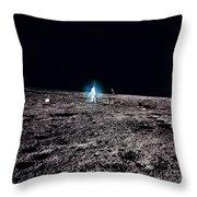 Apollo 12 Astronaut Throw Pillow