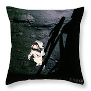 Apollo 14 Astronaut Al Shepard Throw Pillow
