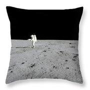 Apollo 14 Astronaut Makes A Pan Throw Pillow